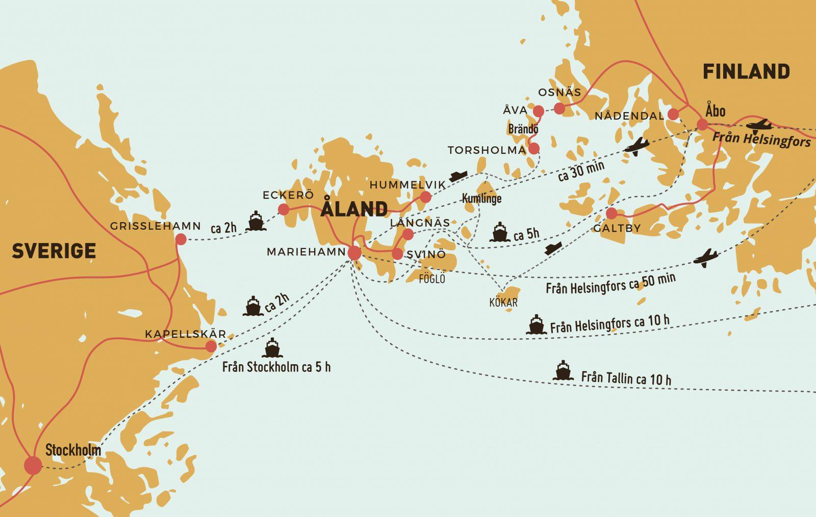 Travel To The Event Skordefesten Pa Aland
